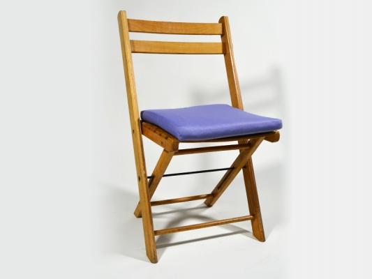Sitzpolster Taubenblau