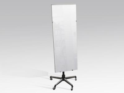 Standspiegel, 180 x 50 cm rollbar